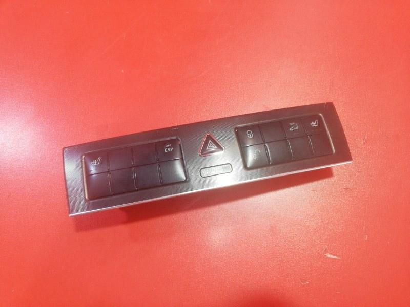 Блок кнопок центральной консоли Mercedes-Benz C-Class C230 CL203 M271 KE 18 ML 2004 (б/у)