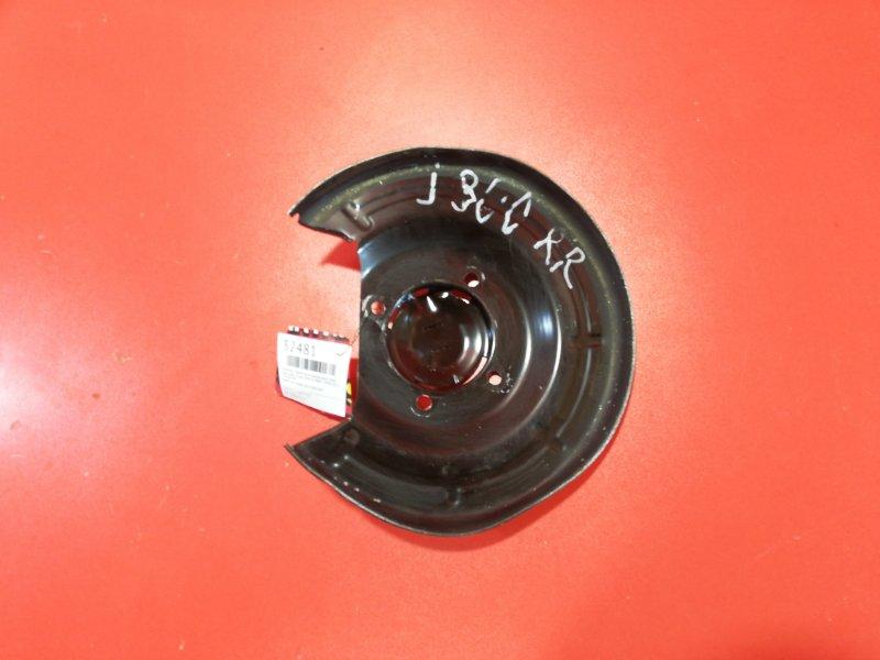 Пыльник тормозного диска Chevrolet Cruze J300 A14NET 2008 задний правый (б/у)