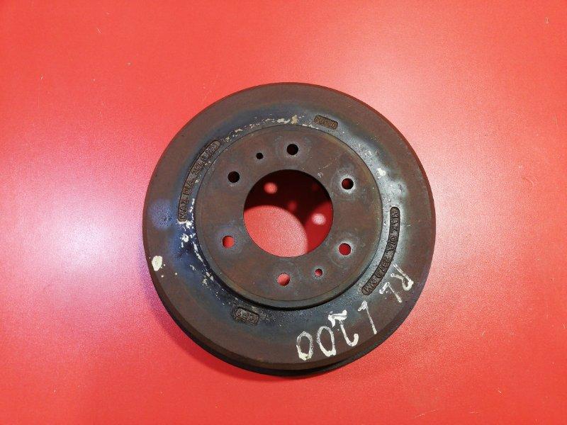 Тормозной барабан Mitsubishi L200 KB4T 4D56 2007 задний (б/у)