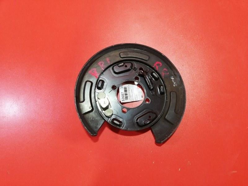 Пыльник тормозного диска Honda Elysion RR1 K24A 2004 задний правый (б/у)