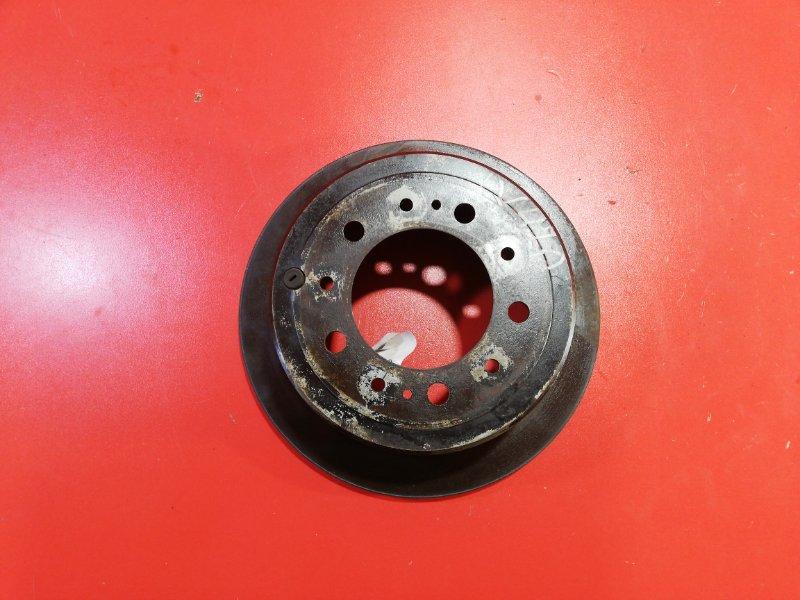 Тормозной диск Lexus Lx470 UZJ100 2UZ-FE 2002 задний (б/у)