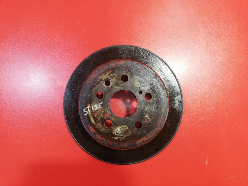Тормозной диск Toyota Caldina ST195 3S-GE 1992 задний (б/у)