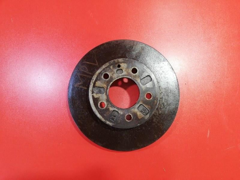 Тормозной диск Mazda Mpv LVLR WL-T 1995 передний (б/у)