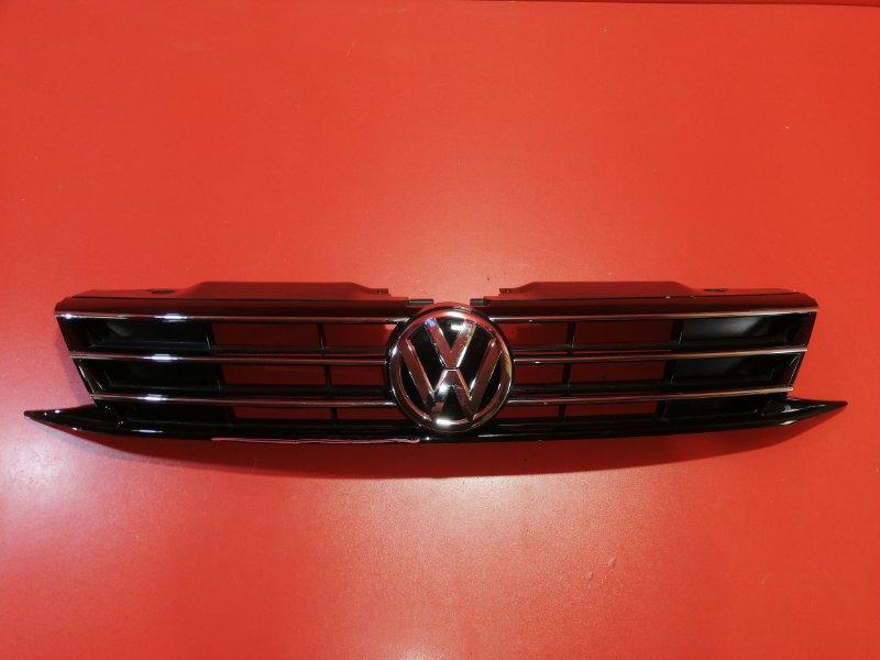 Решетка радиатора Volkswagen Jetta 162 CZCA 2010 (б/у)