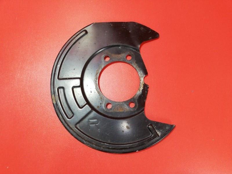 Пыльник тормозного диска Nissan Teana J32 VQ25DE 2008 передний правый (б/у)