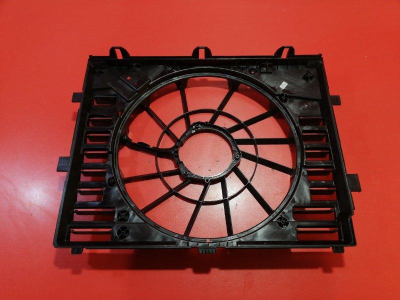 Диффузор радиатора Volkswagen Touareg 7P5 CASD 2010 (б/у)