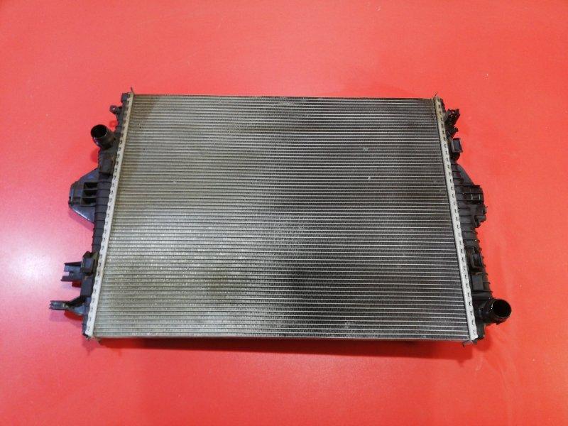 Радиатор двс Volkswagen Touareg 7P5 CASA 2010 (б/у)