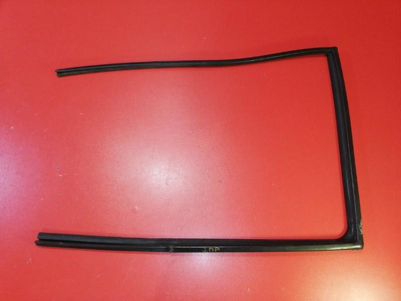 Уплотнитель стекла двери Hyundai Getz TB G4EA 2005 задний правый (б/у)