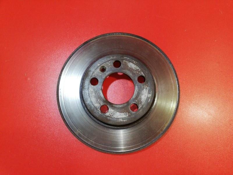 Тормозной диск Volkswagen Polo 602 CFNA 2013 передний (б/у)