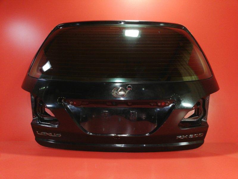 Дверь багажника Lexus Rx300 MCU15 1MZ-FE 2002 (б/у)