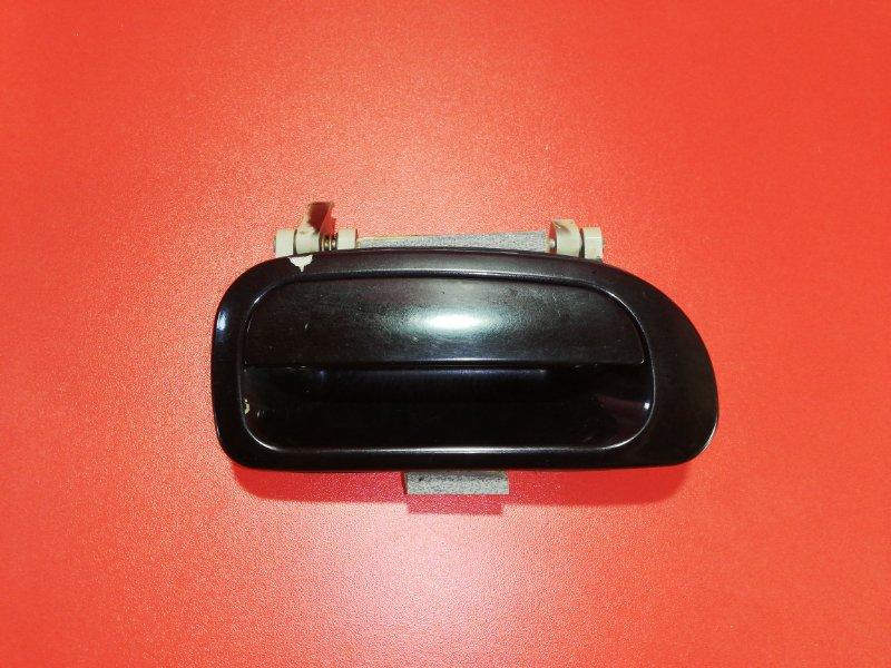 Ручка двери внешняя Daewoo Nexia N150 F16D3 2008 задняя правая (б/у)