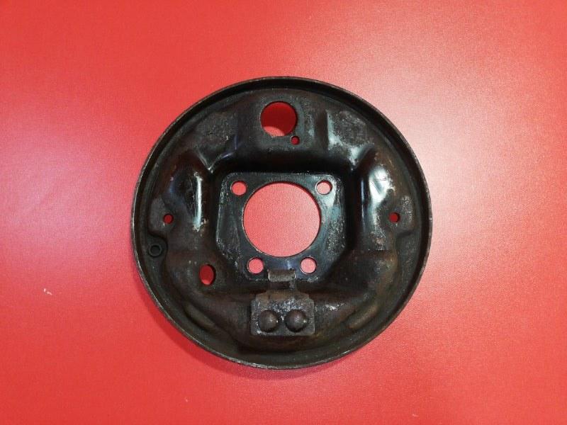 Тормозной щит Daewoo Nexia N150 F16D3 2008 задний левый (б/у)