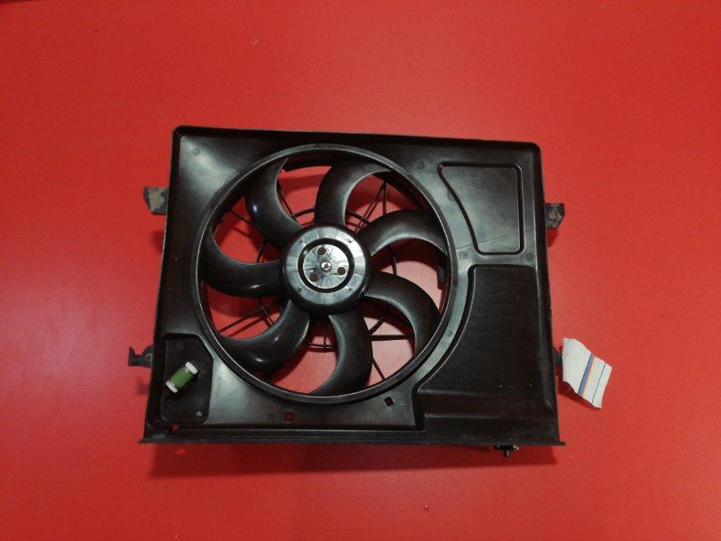 Вентилятор охлаждения радиатора Kia Cerato TD G4FC 2008 (б/у)