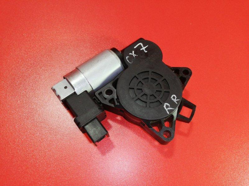 Мотор стеклоподъемника Mazda Cx-7 ER3P L3-VDT 2006 задний правый (б/у)