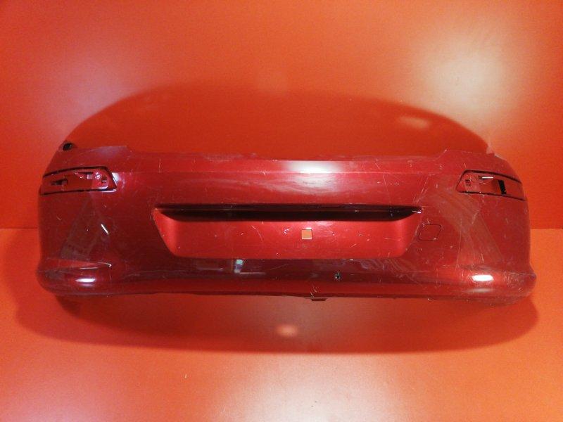 Бампер Peugeot 308 4A/C 9HZ 2007 задний (б/у)