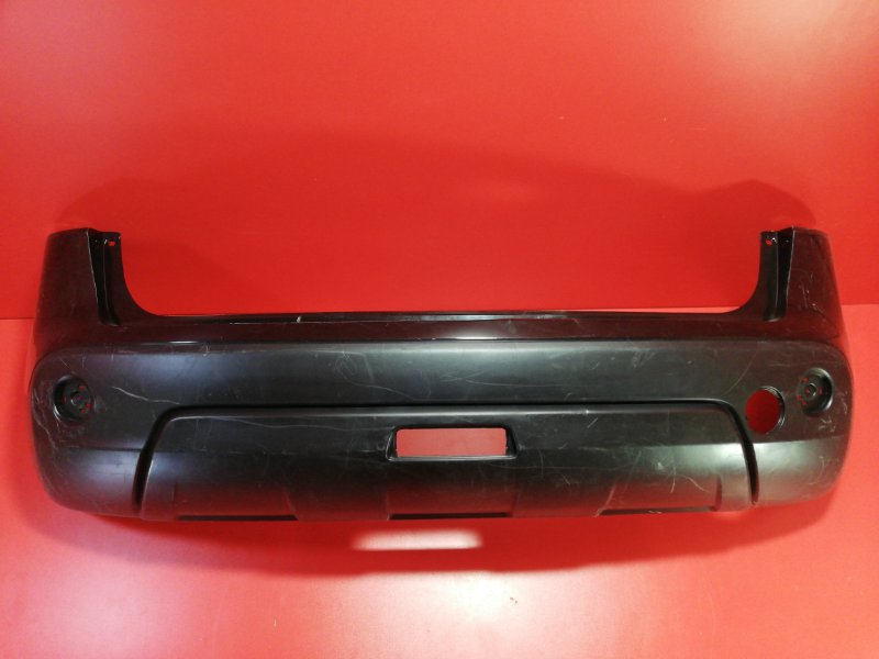 Бампер Nissan Qashqai J10 HR16DE 2006 задний (б/у)