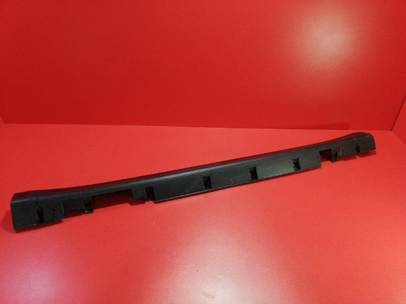 Накладка порога наружняя Nissan Tiida C11X HR16DE 2007 правая (б/у)