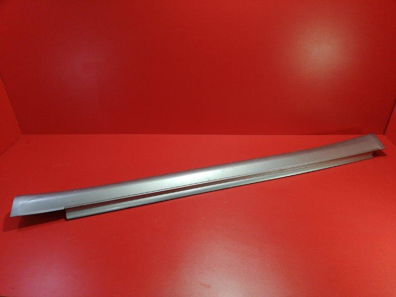 Накладка порога наружняя Nissan Skyline V35 VQ25DD 2001 правая (б/у)