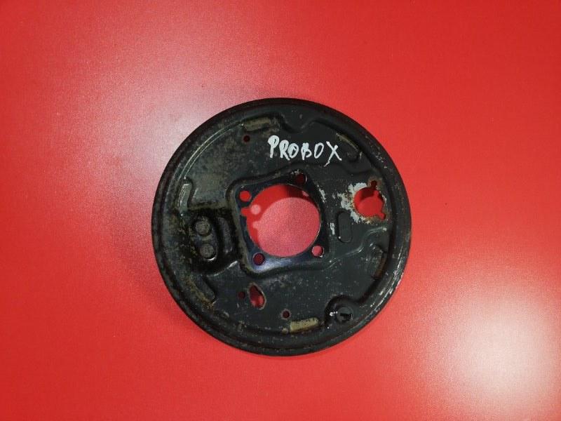 Тормозной щит Toyota Probox NCP51 1NZ-FE 2002 задний левый (б/у)