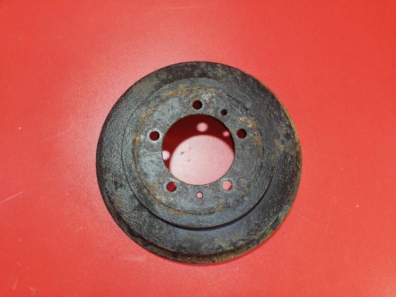 Тормозной барабан Mitsubishi Pajero Io H76W 4G93 1998 задний (б/у)