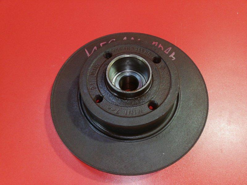 Тормозной диск Renault Megane LM2Y K4M 2002 задний (б/у)