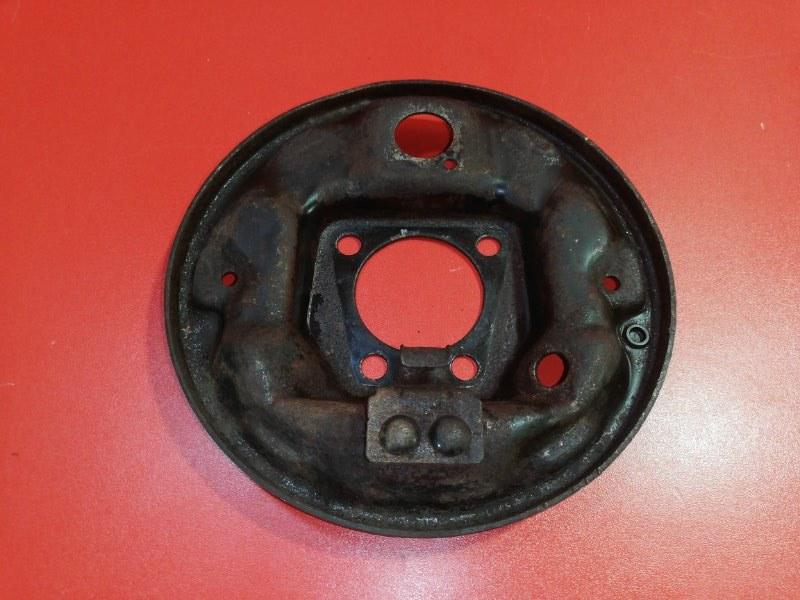 Тормозной щит Daewoo Nexia N150 F16D3 2008 задний правый (б/у)
