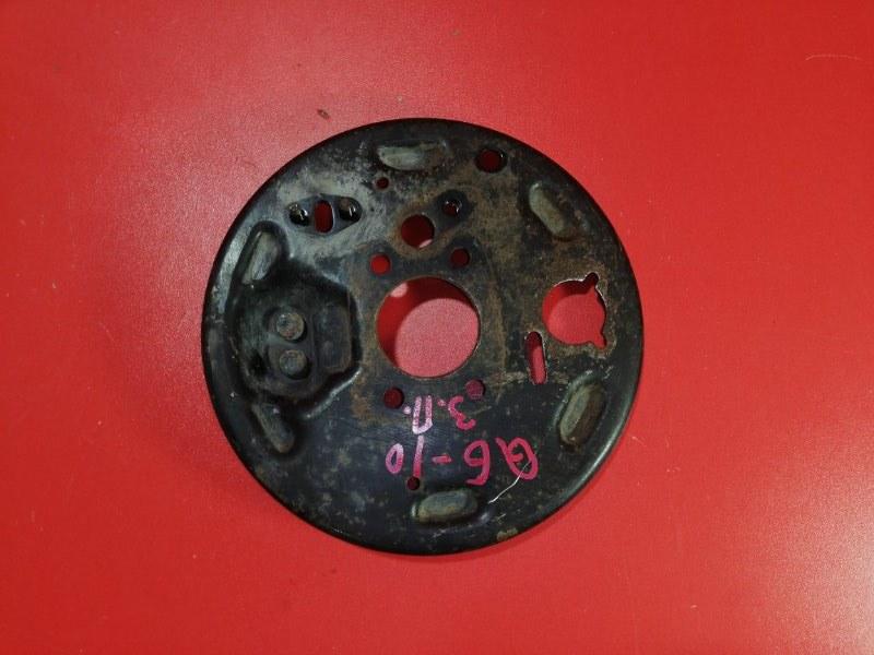 Тормозной щит Nissan Bluebird Sylphy QG10 QG18DE 2000 задний правый (б/у)