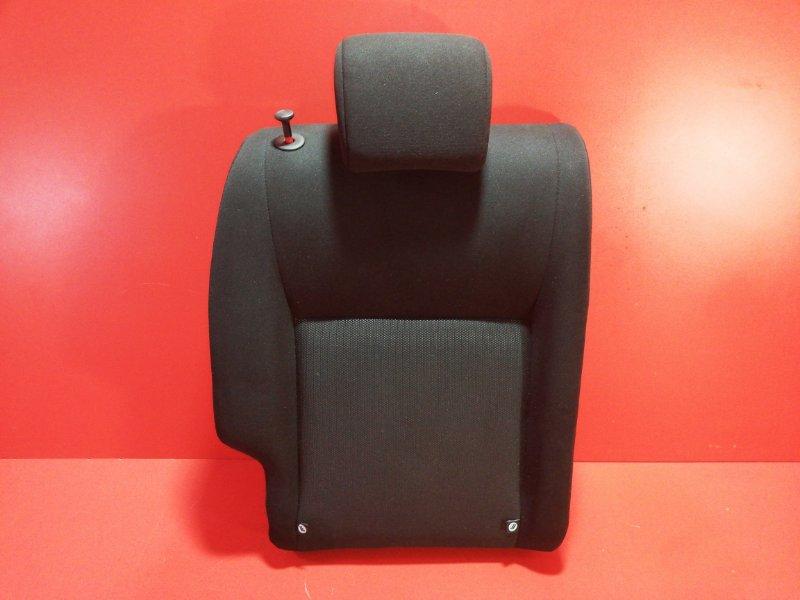 Спинка сиденья Nissan Juke YF15 HR16DE 2011 задняя правая верхняя (б/у)