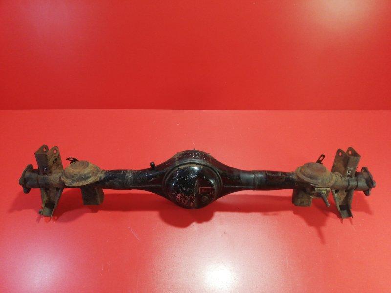 Чулок моста Mitsubishi Pajero Io H76W 4G93 1998 задний (б/у)