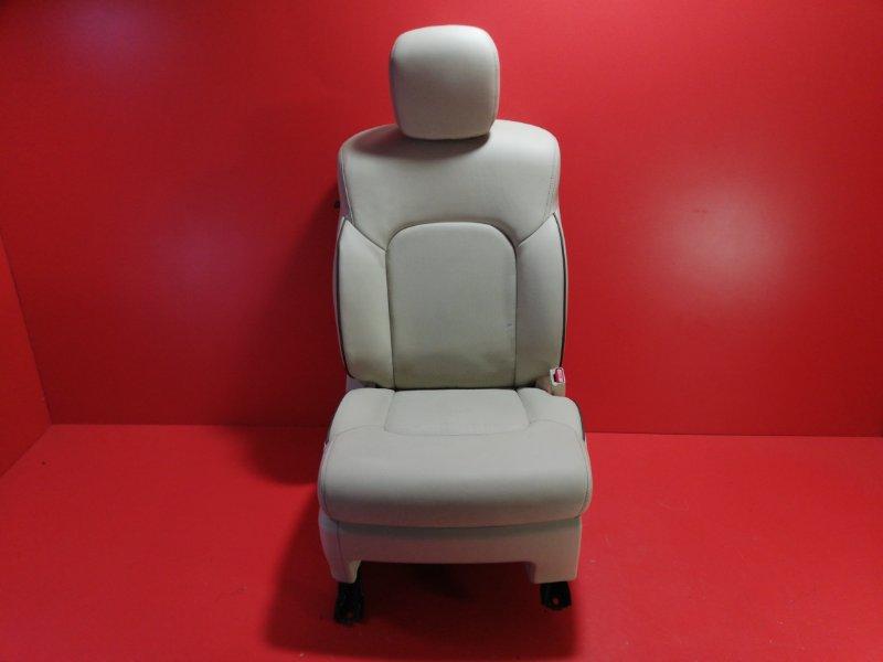 Сиденье Nissan Patrol Y62 VK56VD 2010 переднее правое (б/у)