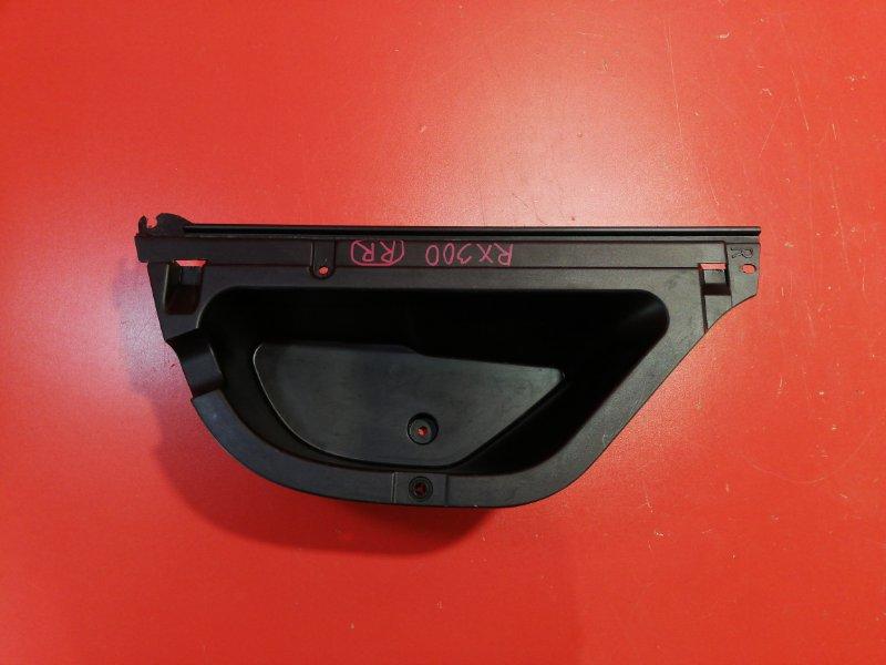 Вставка пола багажника Lexus Rx300 MCU10L 1MZ-FE 1998 задняя правая (б/у)