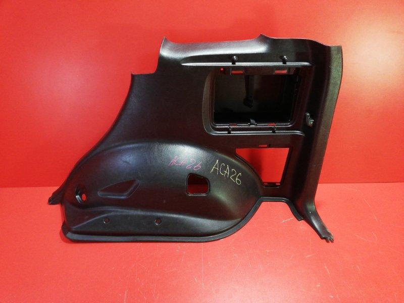 Обшивка багажника Toyota Rav4 ACA21 1AZ-FE 2000 задняя правая (б/у)