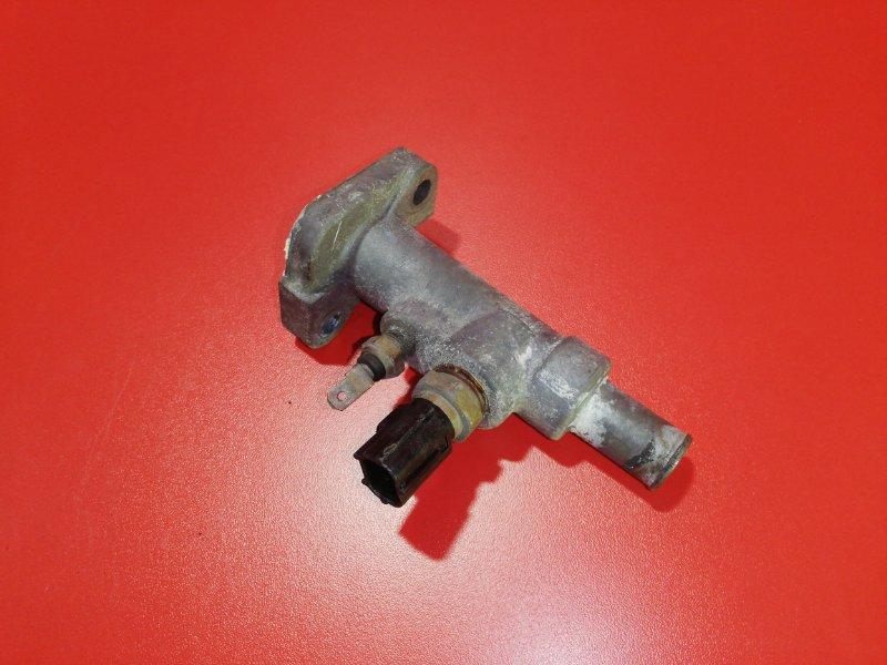 Фланец системы охлаждения Mitsubishi Pajero Io H76W 4G93 1998 (б/у)