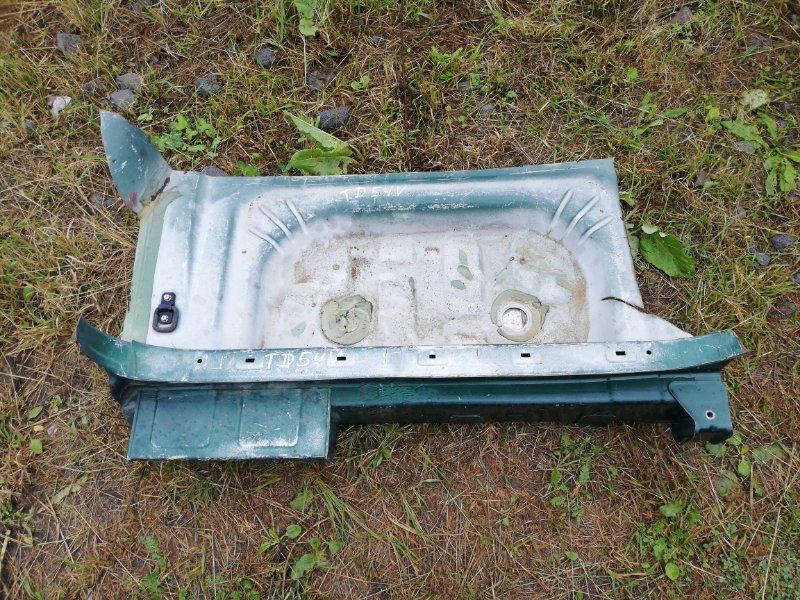 Ванна в багажник Suzuki Grand Vitara TD54W J20A 2005 задняя (б/у)