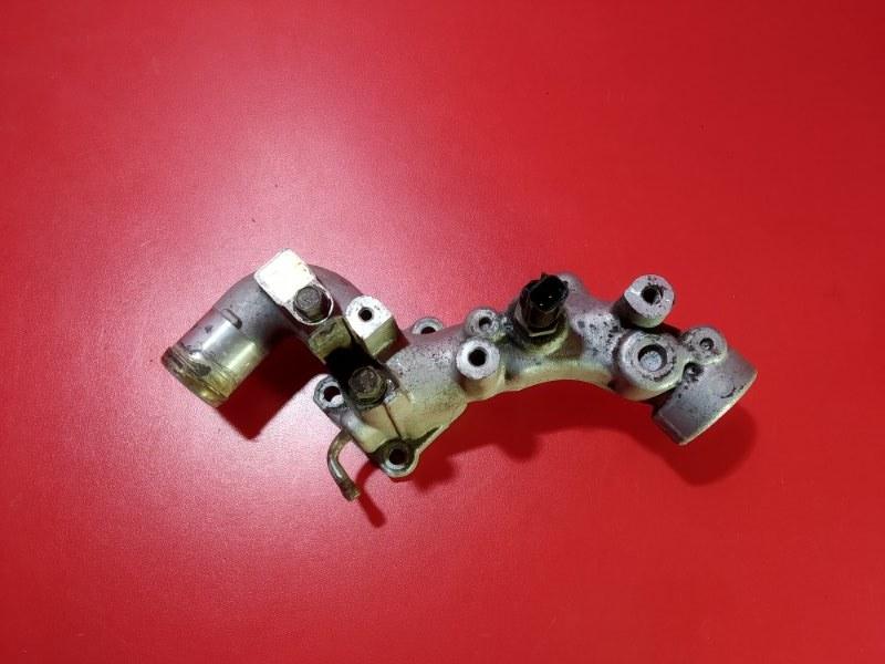 Фланец системы охлаждения Mitsubishi Pajero V97W 6G75 2006 (б/у)