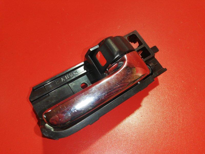 Ручка двери внутренняя Toyota Allex NZE121 1NZ-FE 2001 передняя правая (б/у)
