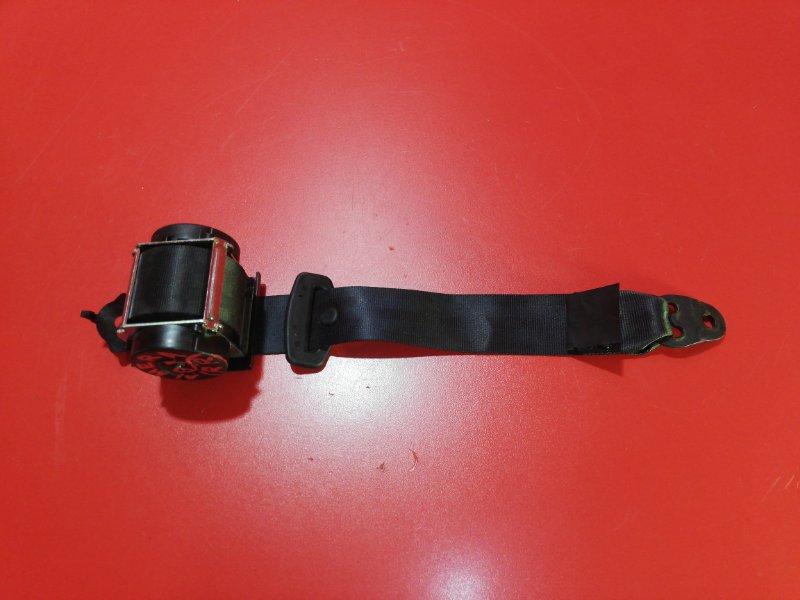 Ремень безопасности Nissan Almera G15 K4M 2012 задний (б/у)