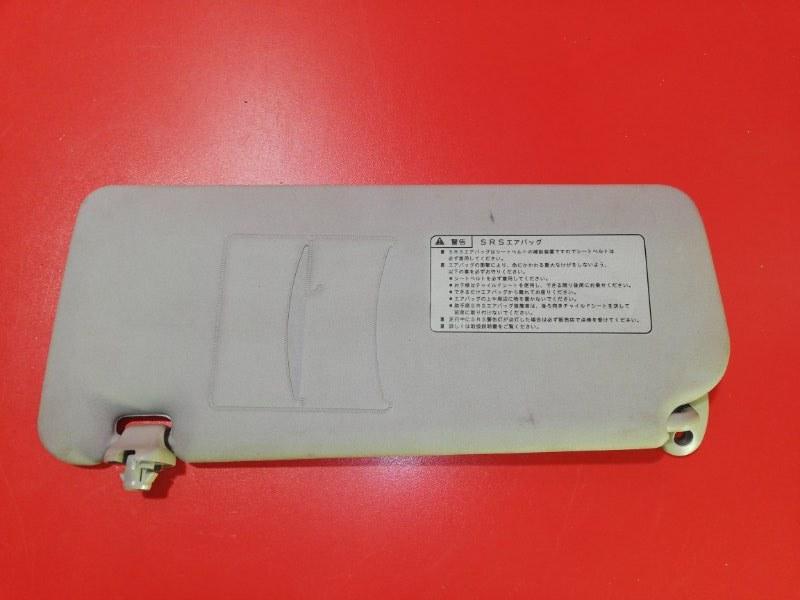 Козырек солнцезащитный Honda Fit GD1 L13A 2001 правый (б/у)