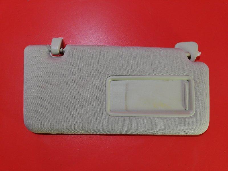 Козырек солнцезащитный Nissan Tiida C11X HR16DE 2004 правый (б/у)