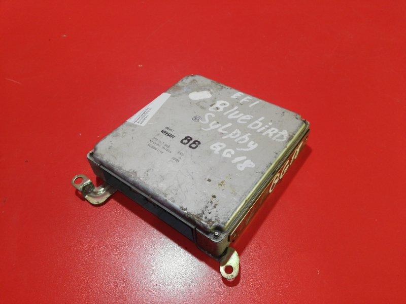 Блок управления двс Nissan Bluebird Sylphy QG10 QG18DE 2000 (б/у)
