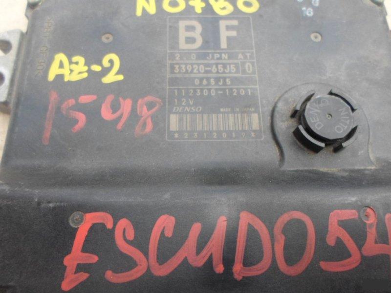 Блок управления efi Suzuki Escudo TD54W J20A (б/у) 780 1123001201