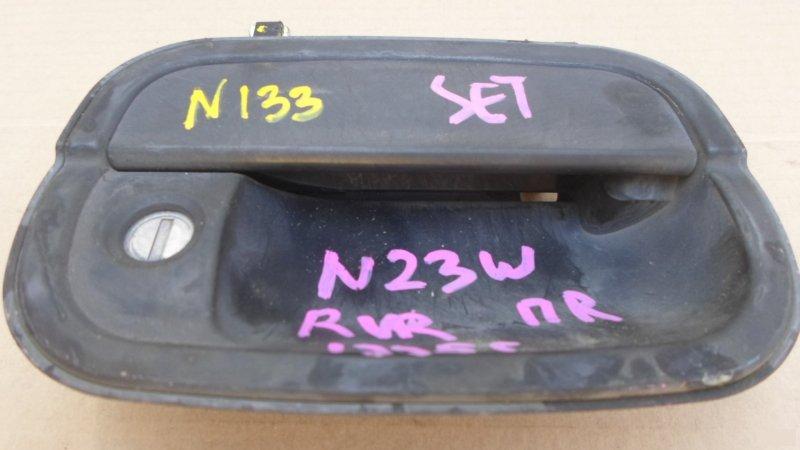 Ручка двери внешняя Mitsubishi Rvr N23W передняя правая (б/у) 133