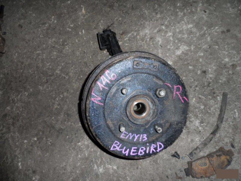 Ступица Nissan Bluebird ENU13 SR18DE задняя правая (б/у)