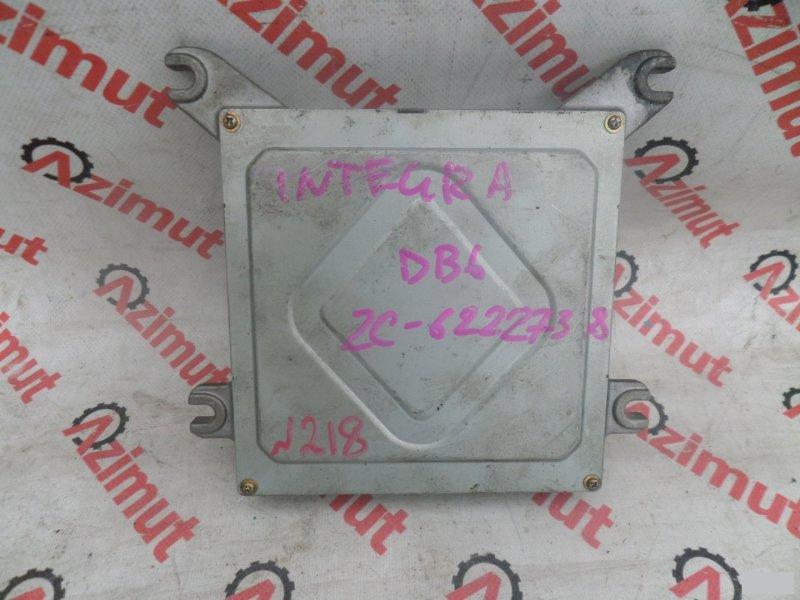 Блок управления efi Honda Integra DB6 ZC (б/у) 37700P74901