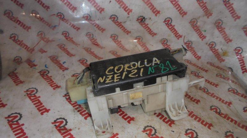 Блок предохранителей Toyota Corolla NZE121 1NZFE (б/у)