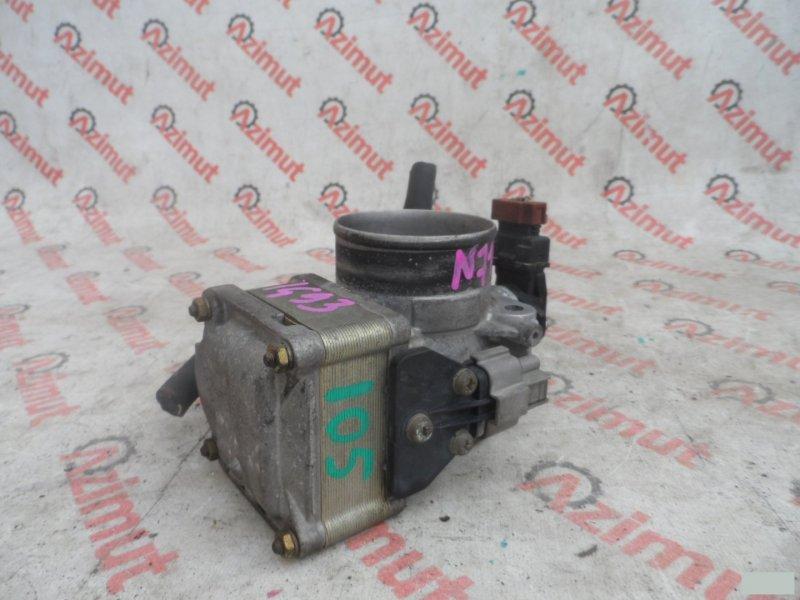 Заслонка дроссельная Mitsubishi Rvr N71W 4G64 (б/у) 105