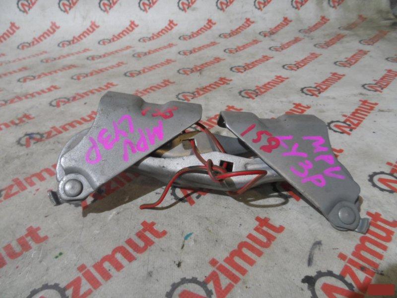 Петля капота Mazda Mpv LY3P передняя (б/у) 158