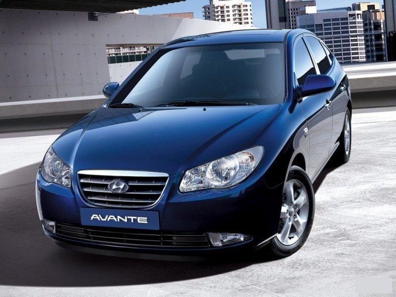 Решетка радиатора Hyundai Avante HD 86351-2H500, HN07058GA