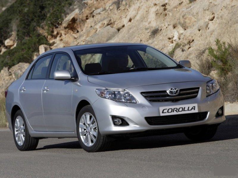 Решетка радиатора Toyota Corolla ZRE151 53114-12100, TY07421GB