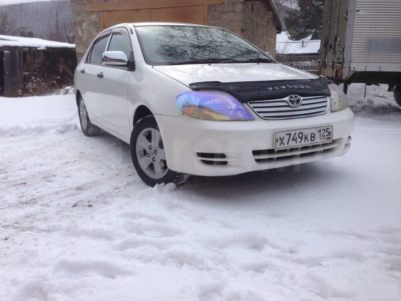 Заглушка бампера Toyota Corolla ZZE124 передняя левая 52128-12080, TY99057CAL